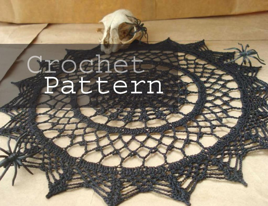 Luxury Spider Web Doily by Smallpackagess Crochet Spider Web Of Beautiful 48 Models Crochet Spider Web