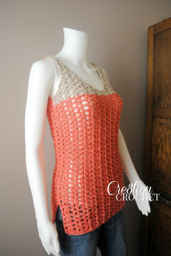 Luxury Summer Crochet Projects with Free Patterns and Tutorials 2017 Free Crochet Summer tops Patterns Of Incredible 43 Models Free Crochet Summer tops Patterns
