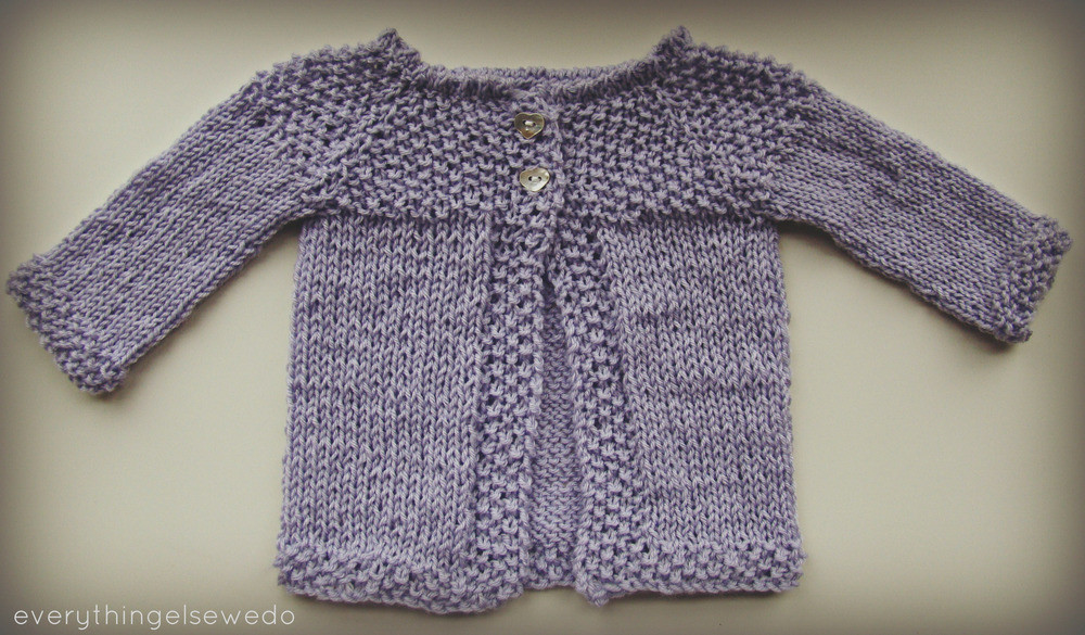 Super Easy Baby Sweater Knit Sweater Vest
