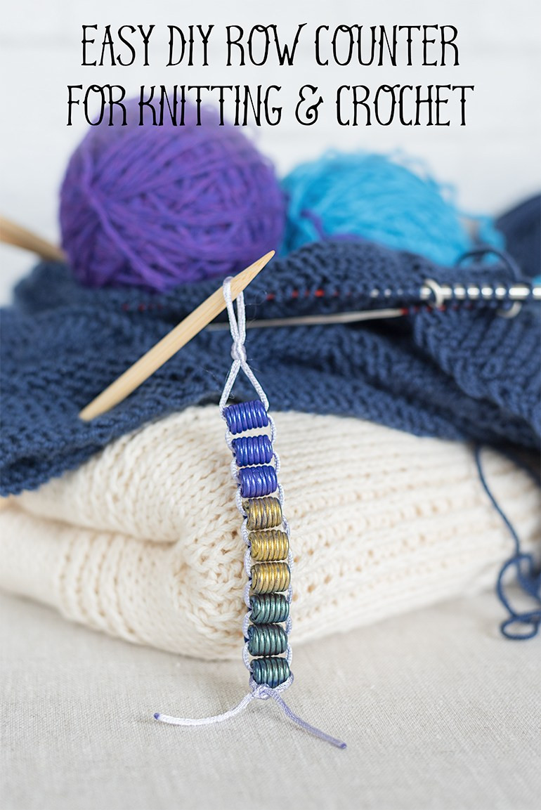 Luxury Super Easy Diy Row Counter for Knitting and Crochet the Crochet Row Counter Of New 44 Pics Crochet Row Counter