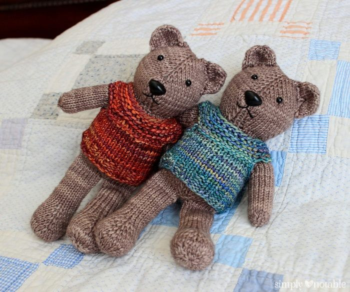Luxury Teddy Bear Knitting Patterns Knitted Bear Pattern Of Brilliant 42 Photos Knitted Bear Pattern