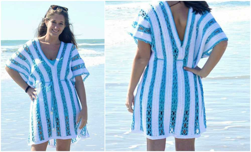 Luxury the Beach – Sunny Day Cover Up Tunic [free Crochet Crochet Beach Cover Up Patterns Of Adorable 47 Models Crochet Beach Cover Up Patterns