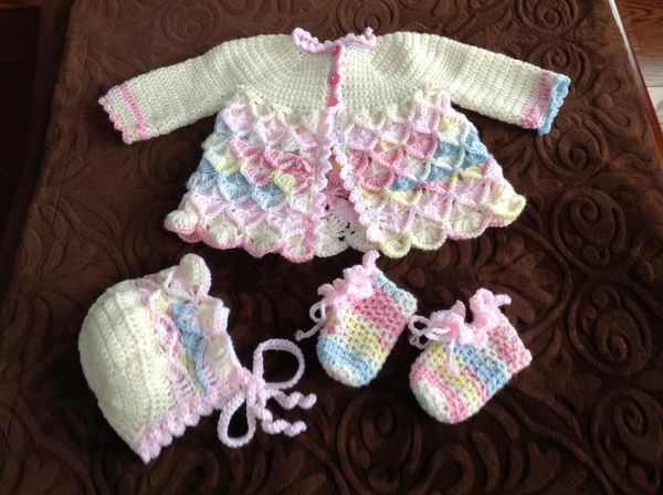 Luxury the Gallery for Baby Boy Crochet Booties Crochet Baby Sets Of Amazing 49 Models Crochet Baby Sets