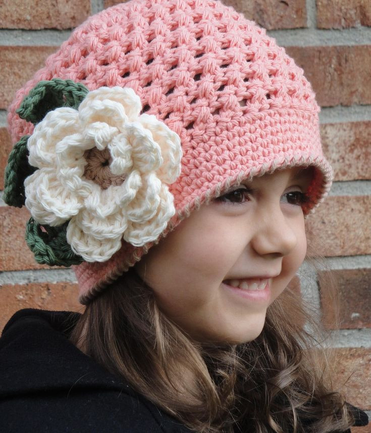 The gallery for Girls Hats With Flowers