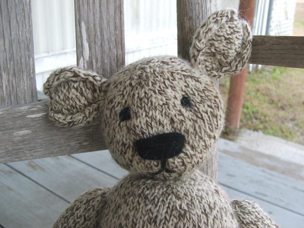Luxury the Teddy Bear that Saved Me by Gregory Patrick Craftsy Knitted Bear Pattern Of Brilliant 42 Photos Knitted Bear Pattern