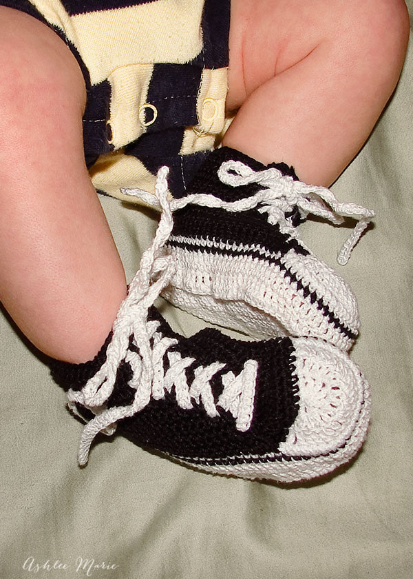 Luxury Thread Crochet Baby Converse Pattern Free Crochet Converse Baby Booties Of Wonderful 41 Models Crochet Converse Baby Booties