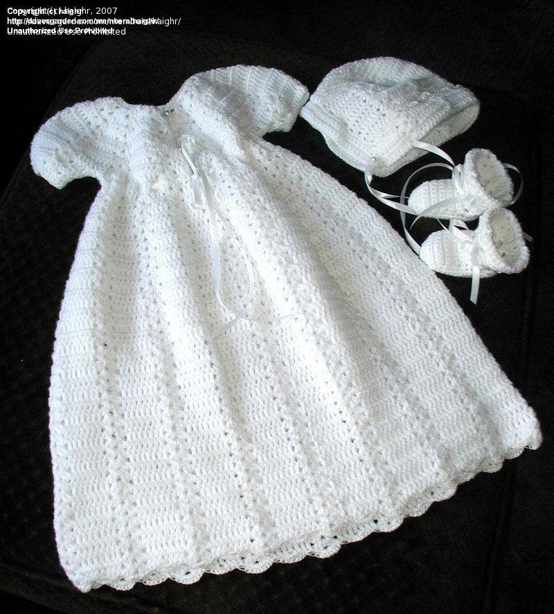 THREAD CROCHET CHRISTENING GOWN PATTERNS – Easy Crochet