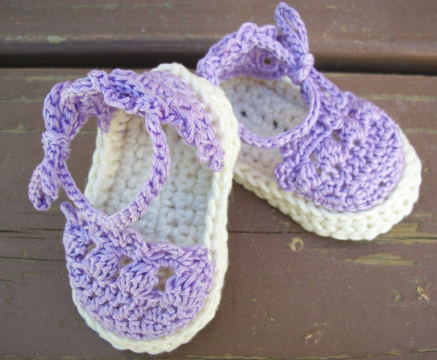 Toast with Jelly Too Crochet Baby Espadrille Sandals
