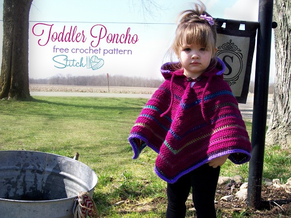 Luxury toddler Hooded Poncho Stitch11 Baby Poncho Crochet Pattern Free Of Top 50 Pictures Baby Poncho Crochet Pattern Free