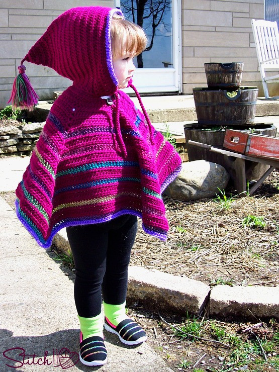 Luxury toddler Hooded Poncho Stitch11 toddler Poncho Crochet Pattern Of Great 46 Images toddler Poncho Crochet Pattern