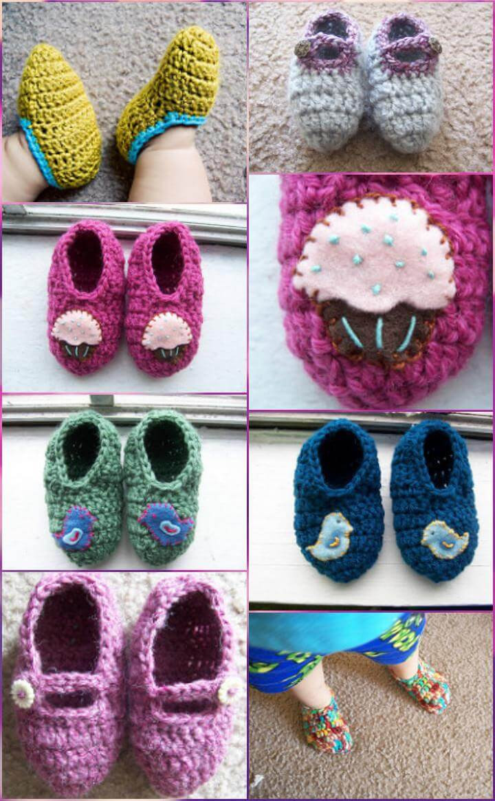 Luxury top 40 Free Crochet Baby Booties Patterns Diy & Crafts Crochet toddler Slippers Of Delightful 50 Images Crochet toddler Slippers