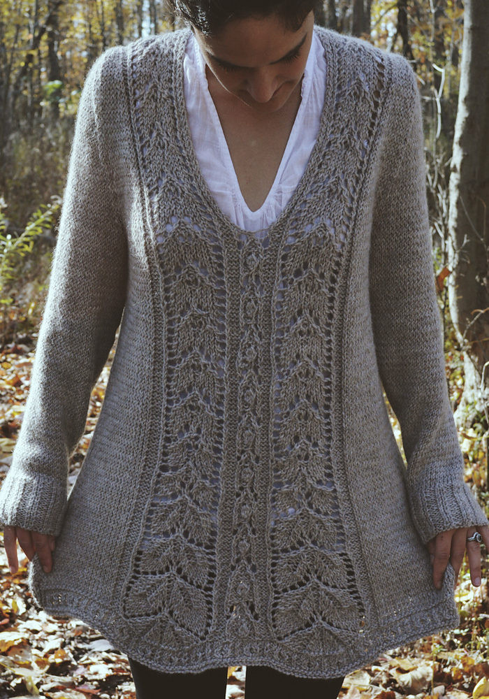 tops with flare knitting patterns