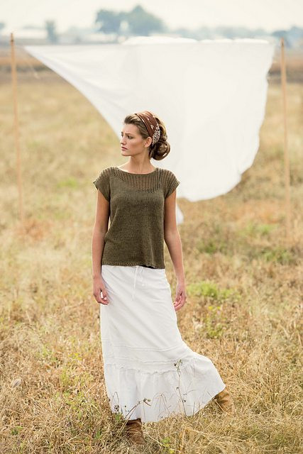 Twelve Super Simple Summer Knitting Patterns Flax & Twine