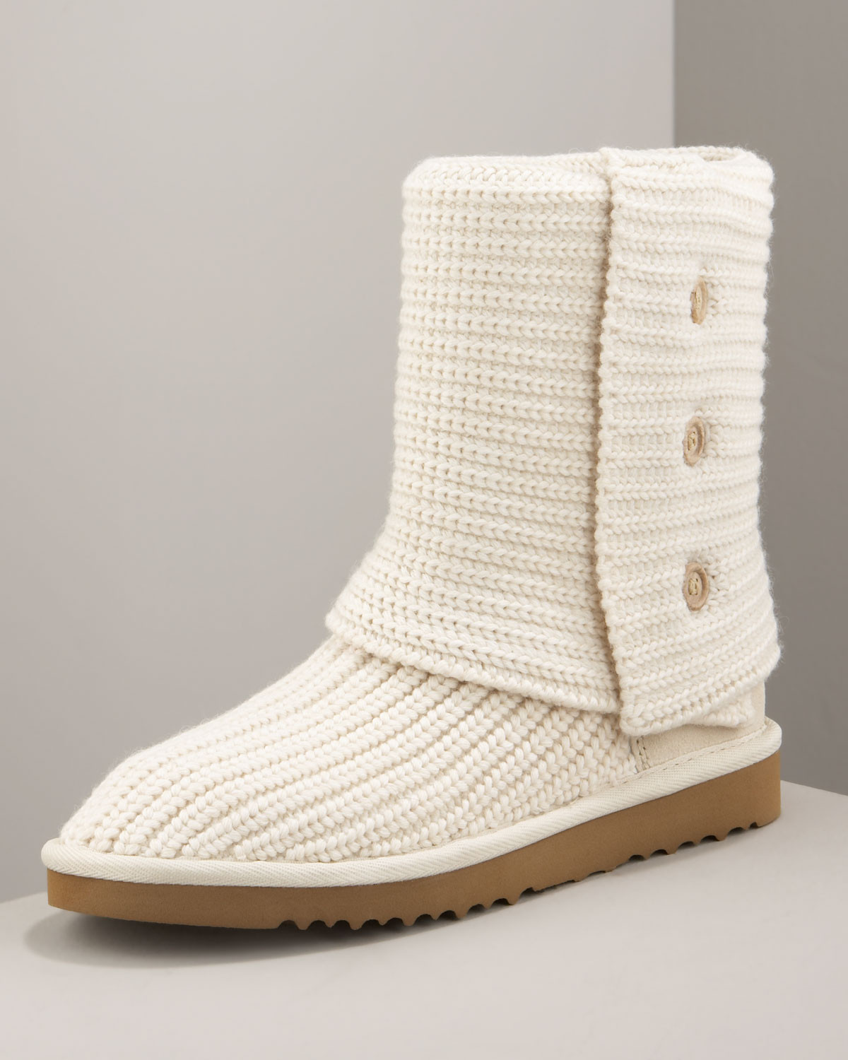 Luxury Ugg Classic Cardy Crochet Boot Cream In Natural Crochet Uggs Boots Of New 45 Ideas Crochet Uggs Boots