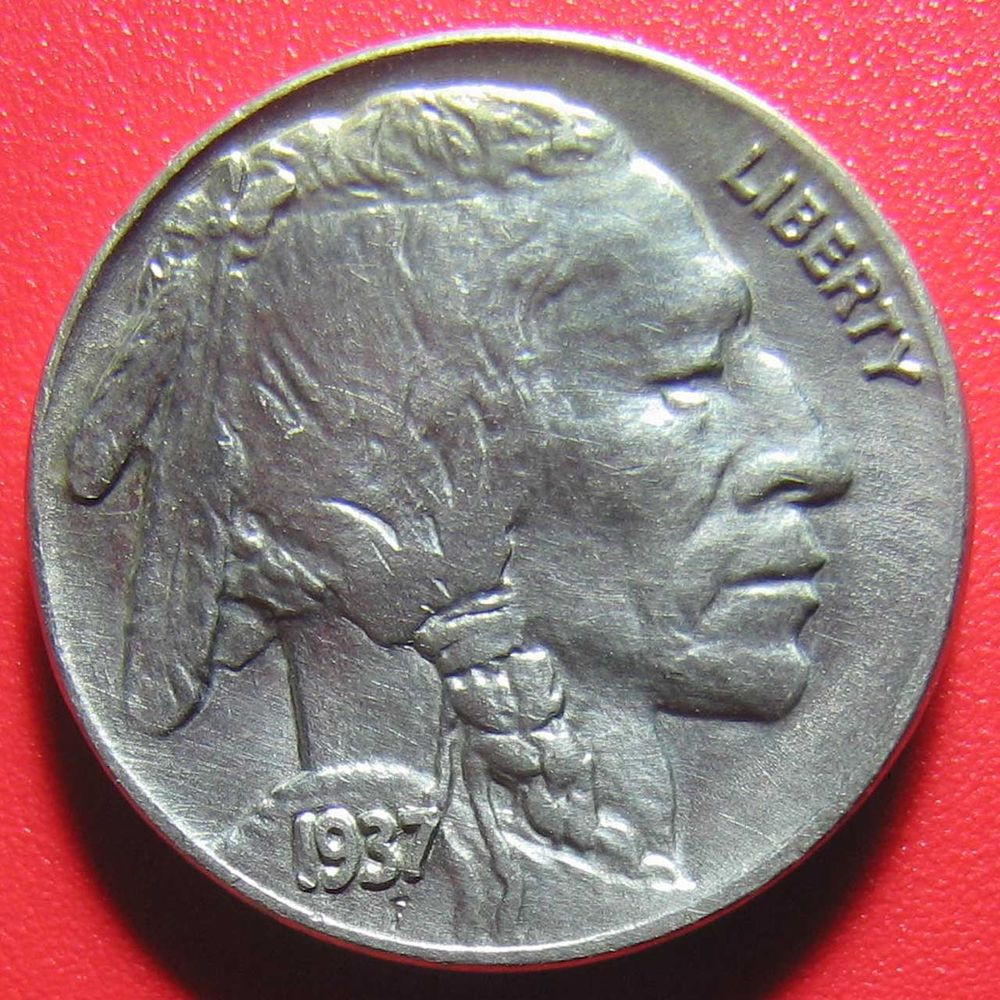 USA 1937 BUFFALO NICKEL HIGH GRADE SHARP DETAILS
