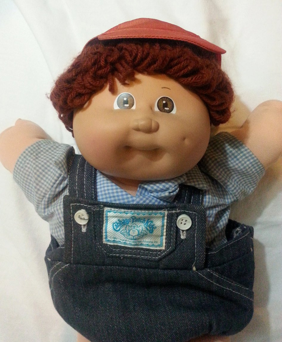 Vintage Cabbage Patch Boy Doll Toy Collectible with original