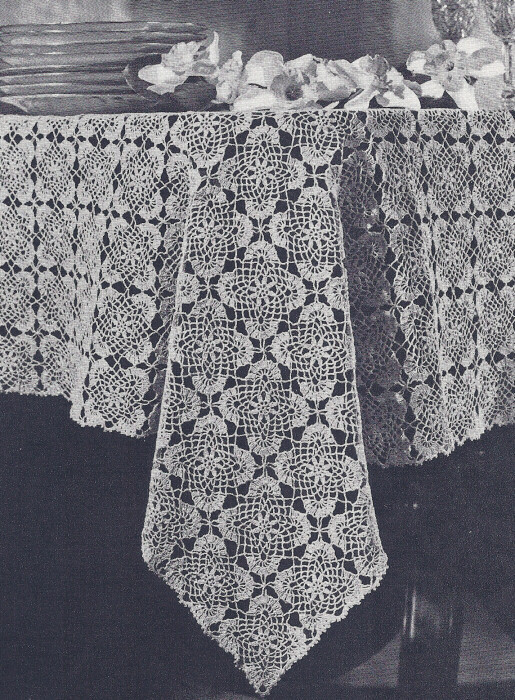 Luxury Vintage Crochet Pattern Jonquil Tablecloth Motif Design Crochet Tablecloth for Sale Of Delightful 42 Ideas Crochet Tablecloth for Sale