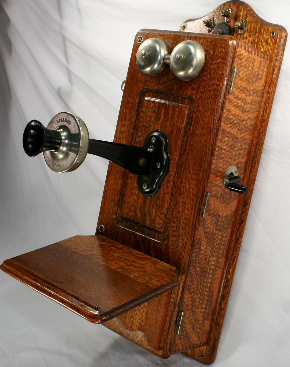 Luxury Vintage Oak Kellogg Cathedral Wall Telephone Antique Wall Telephone Of Superb 36 Ideas Antique Wall Telephone
