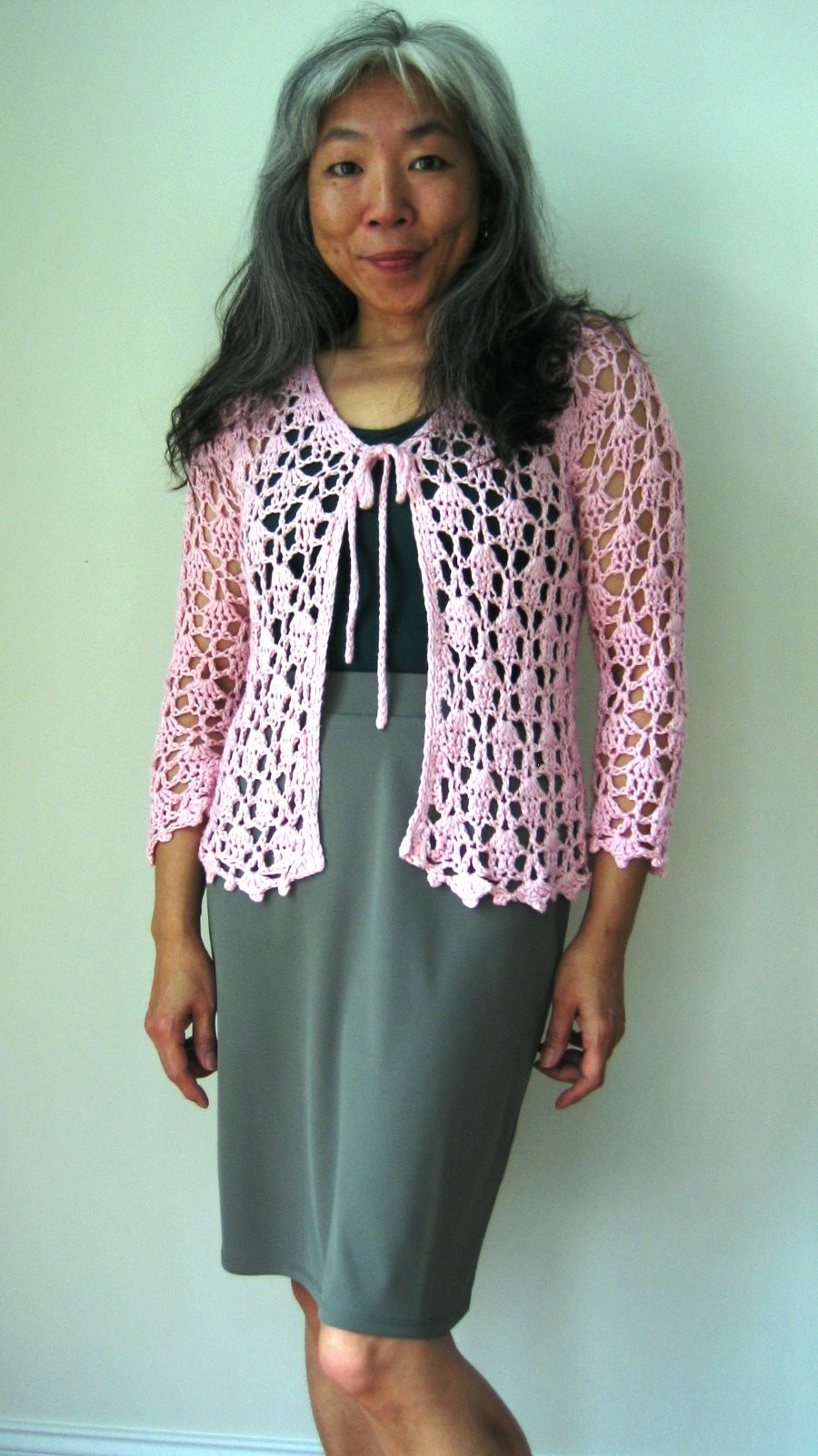 Luxury What I'm Wearing today Lacy top Cardigan Crochet Lace Cardigan Of Great 45 Images Crochet Lace Cardigan