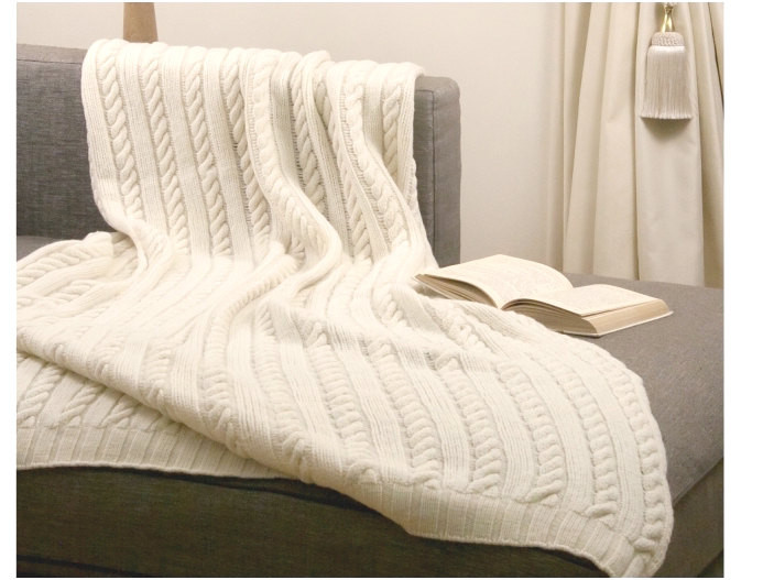 Luxury White Cable Knit Throw Blanket Cable Knit Sweater Blanket Of Incredible 50 Photos Cable Knit Sweater Blanket