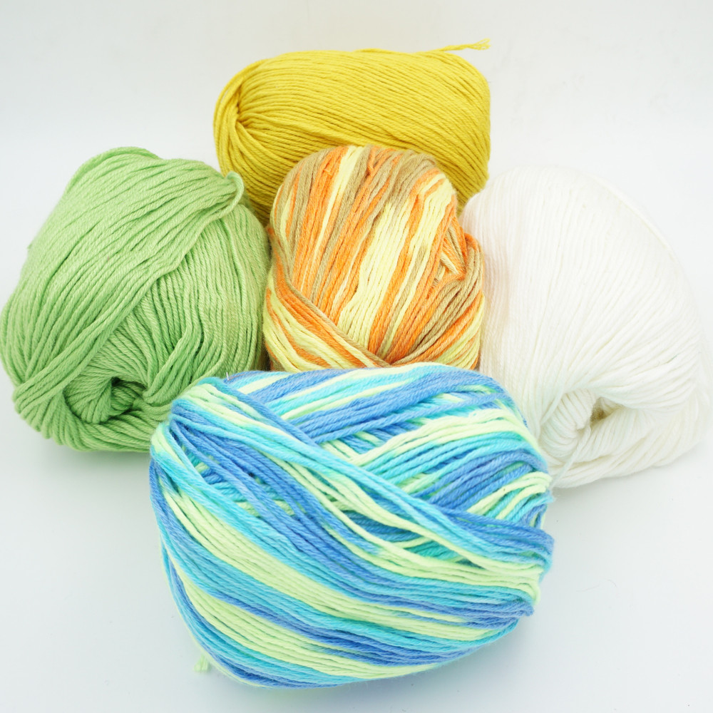 Luxury wholesale 5 Pieces 50g Yarn for Knitting to Knit Cashmere Discount Yarn Bulk Of Adorable 46 Models Discount Yarn Bulk