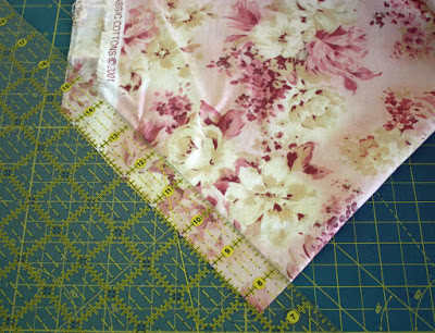Wild Rose Vintage Crochet Rug Using Bias Fabric Strips