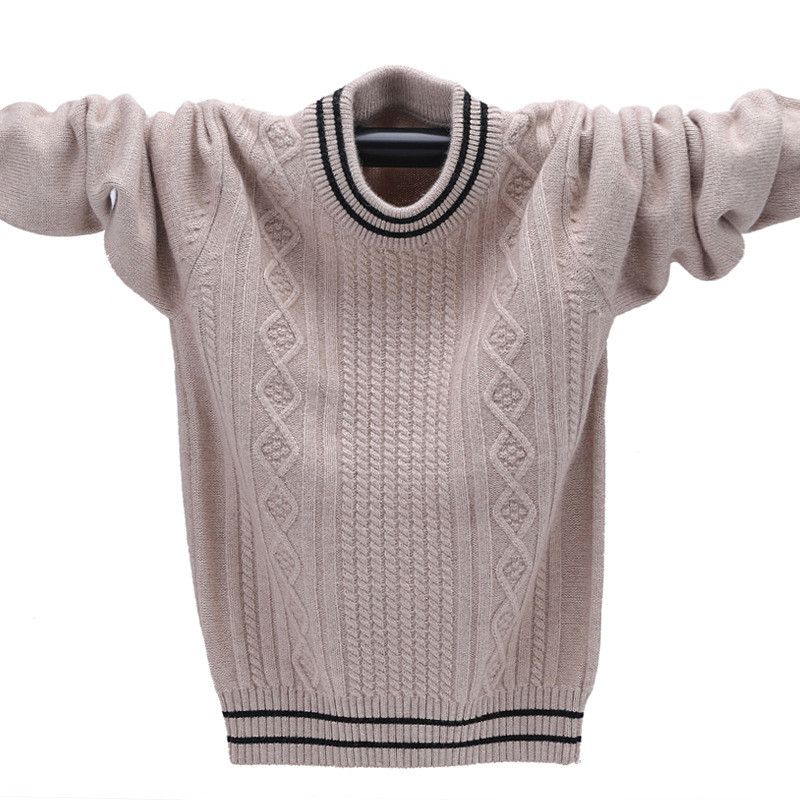 Winter Cashmere Sweater for a Boy Warm Pullover Boys