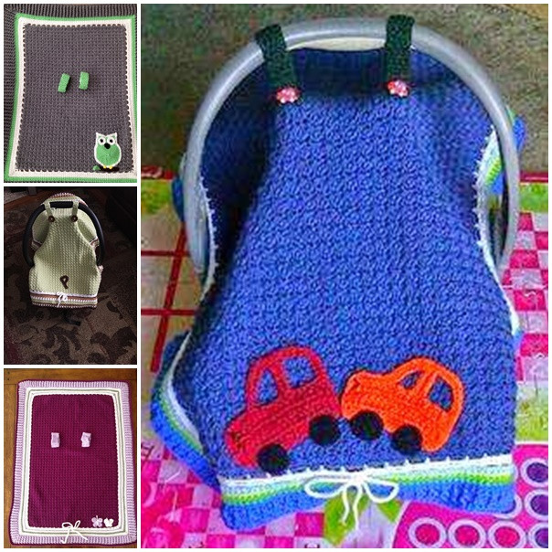 Luxury Wonderful Diy Crochet Baby Car Seat Tent with Free Pattern Seat Cover Pattern Of Superb 46 Photos Seat Cover Pattern
