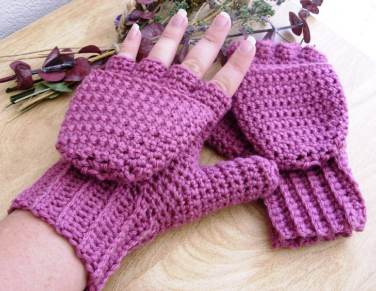 Luxury Wool Crocheted Rose Convertible Fingerless Crochet Gloves with Fingers Of Brilliant 50 Pics Crochet Gloves with Fingers