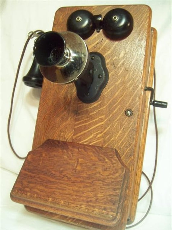 Luxury Working Old Fashioned Wood Wall Phone by Nostalgicmeditations Old Fashioned Wall Phone Of Charming 47 Models Old Fashioned Wall Phone