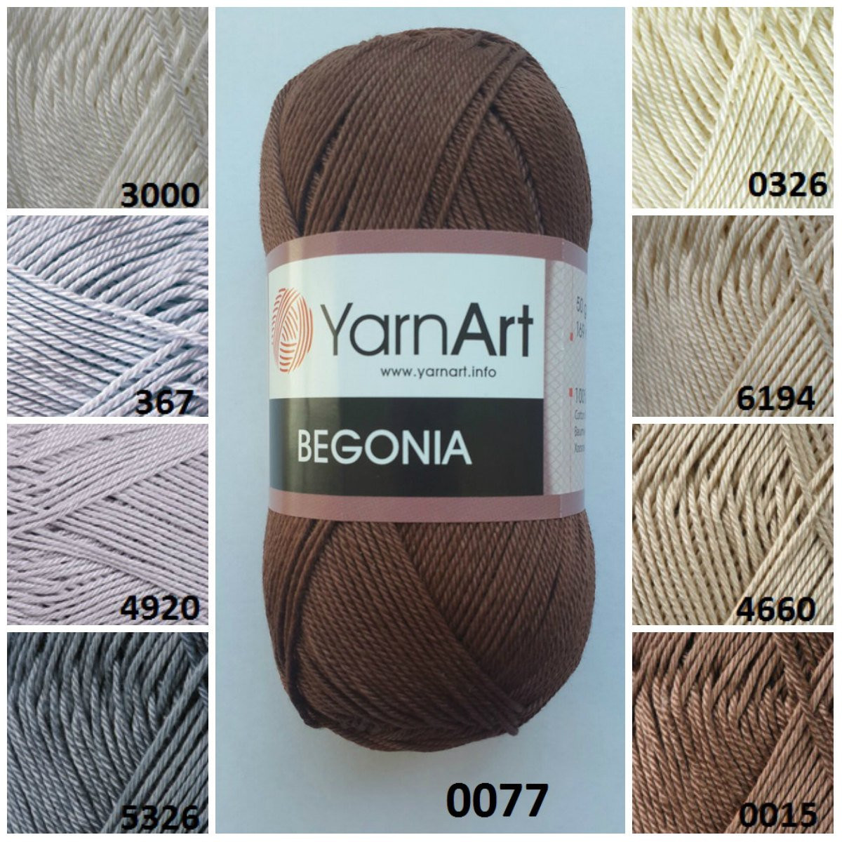 Luxury Yarnart Begonia 0 Cotton Yarn Knitting Yarn Crochet Crochet Cotton Thread Of New 50 Pics Crochet Cotton Thread