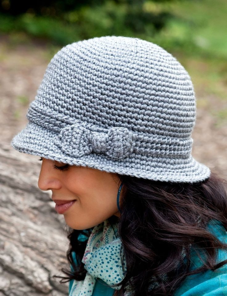 Yarnspirations Caron Elegant Hat Patterns