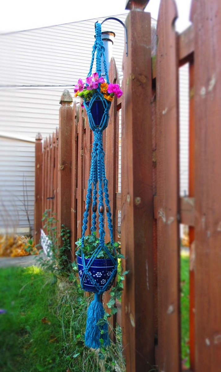 Macrame Plant Hanger Lovely Cool Macrame Plant Hanger Ideas for Your Sweet Home Of Attractive 42 Pics Macrame Plant Hanger
