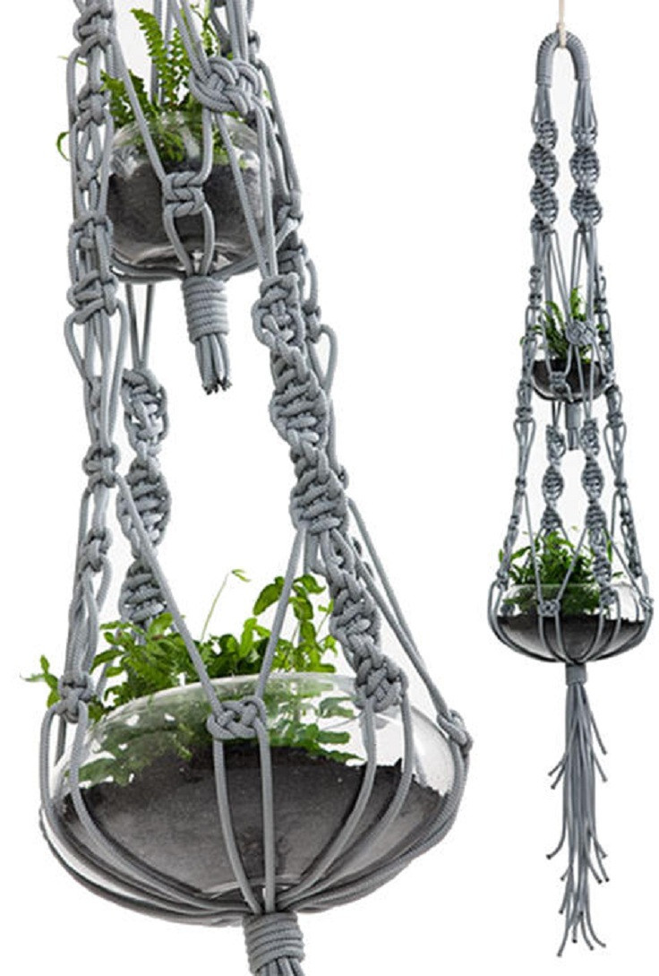 Macrame Plant Hanger New top 10 Fancy Ideas for Macrame Hanging Planter top Inspired Of Attractive 42 Pics Macrame Plant Hanger