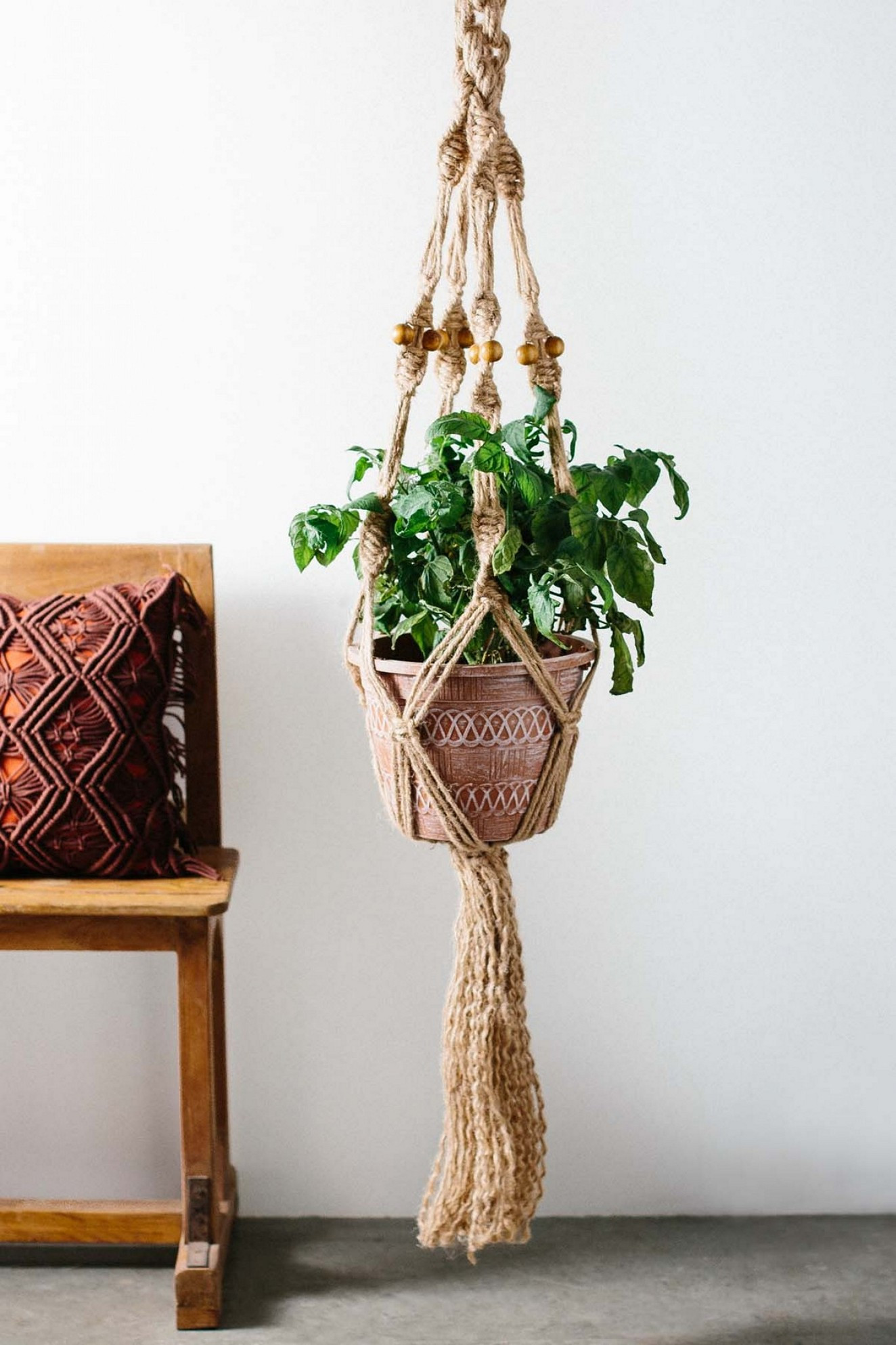 Macrame Plant Hanger Unique Cool Macrame Plant Hanger Ideas for Your Sweet Home Of Attractive 42 Pics Macrame Plant Hanger