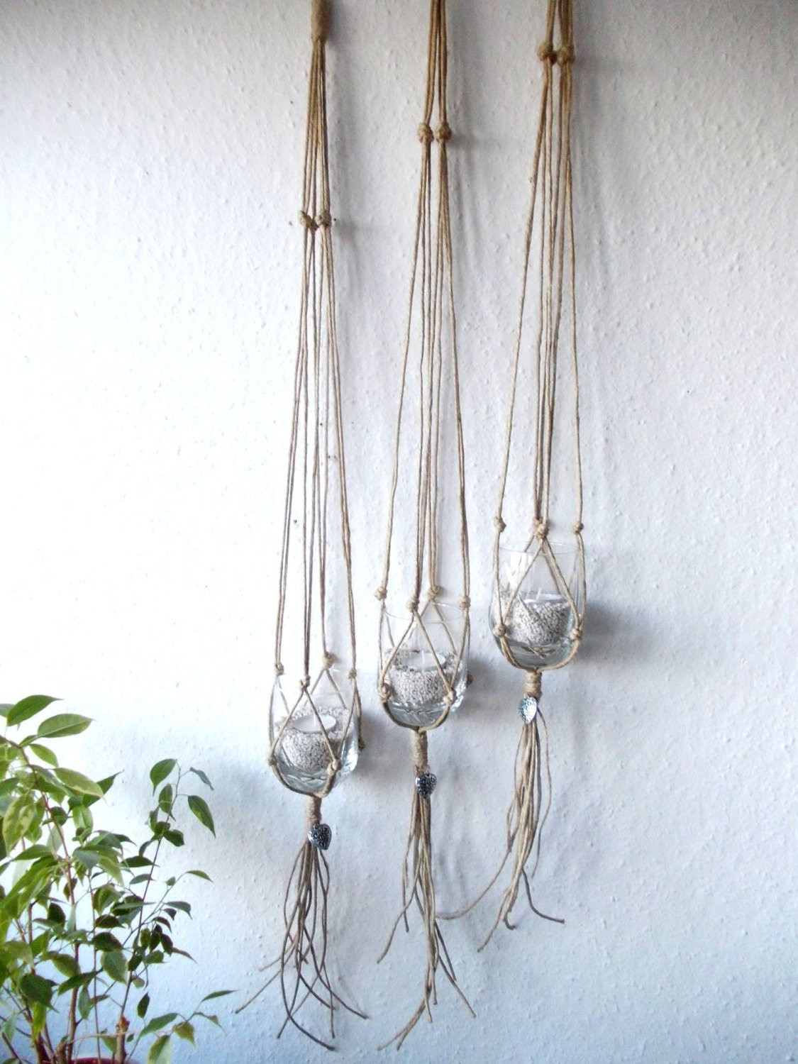 Macrame Plant Holder Fresh Set Of Three Macrame Plant Hangers Indoor Plant Of Luxury 45 Images Macrame Plant Holder