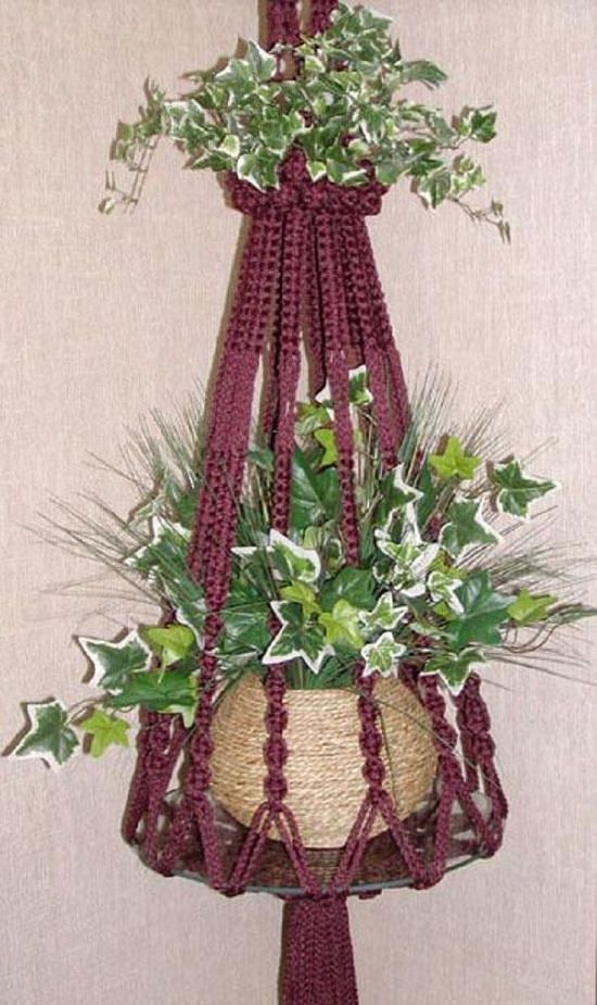 23 Most Amazing Macrame Plant Hangers DIY Ideas