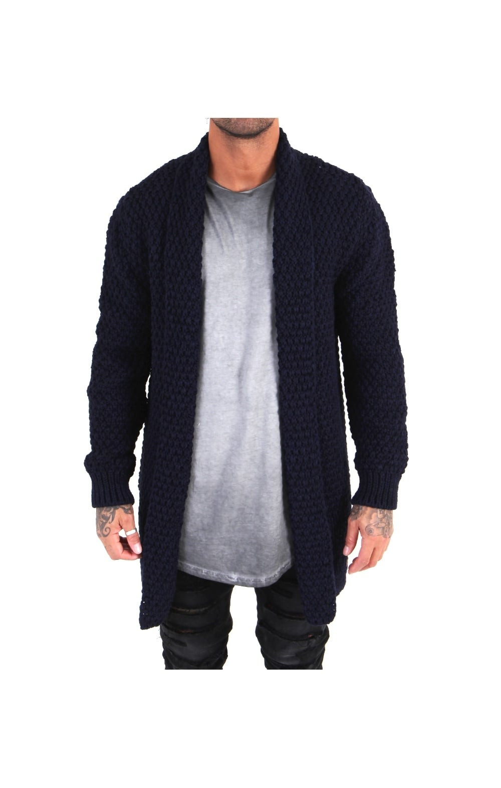 Mens Cable Knit Cardigan Best Of Siksilk Cable Knit Longline Cardigan Navy Siksilk From Of New 45 Models Mens Cable Knit Cardigan