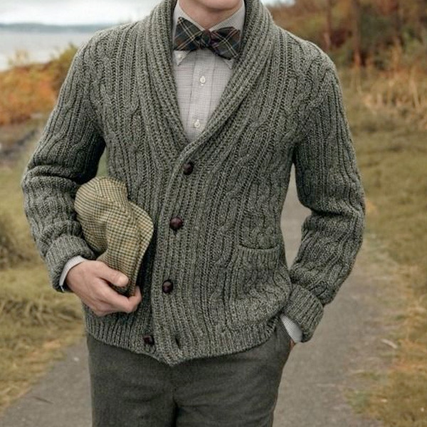 Men s Cable Knit Style