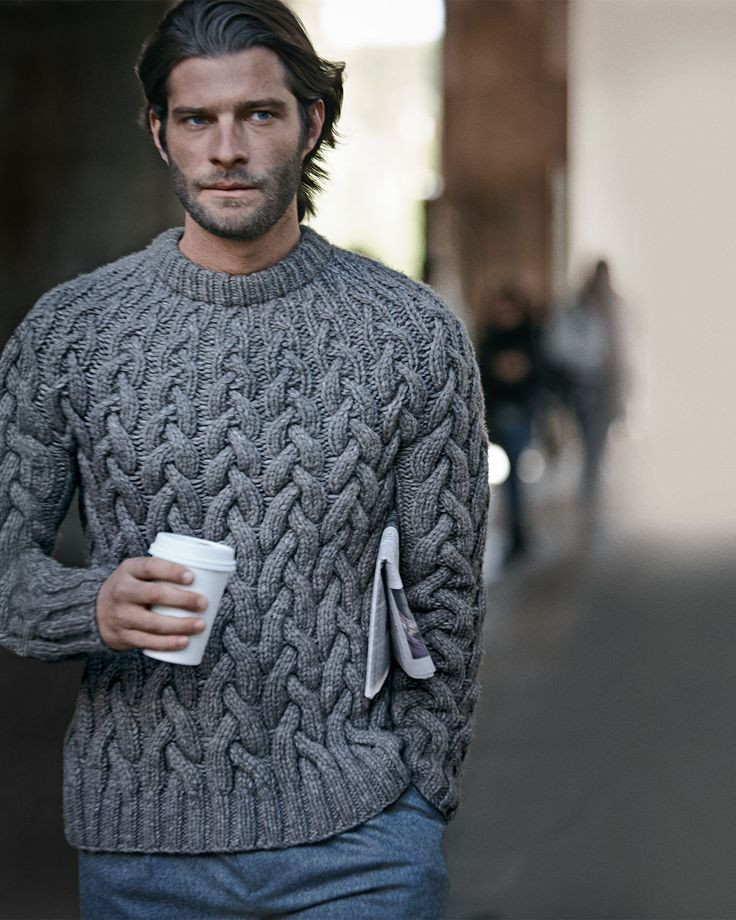 Mens Cable Knit Cardigan Fresh Wool Cable Knit Chunky Sweater From Michael Kors Of New 45 Models Mens Cable Knit Cardigan