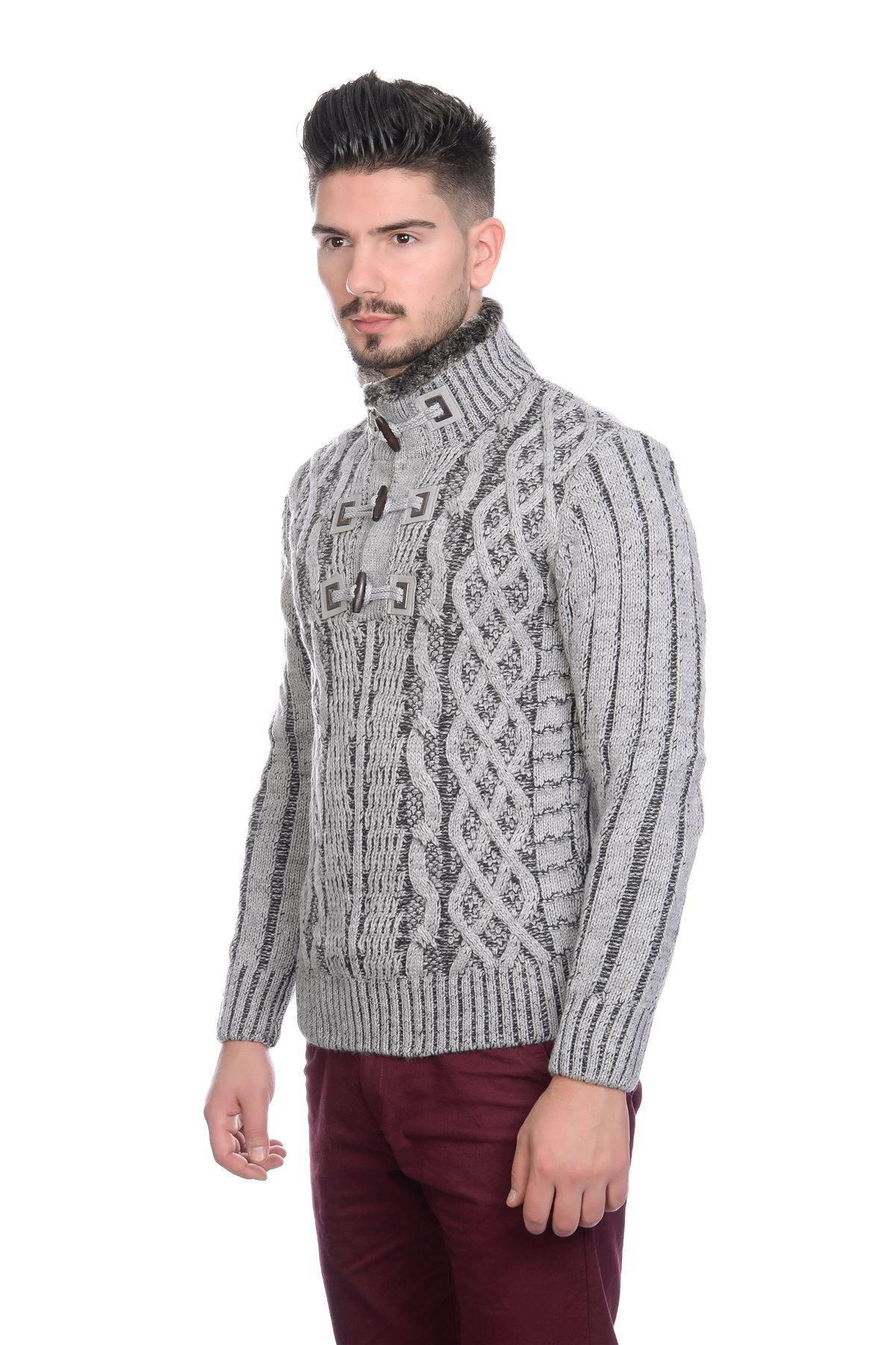 Mens Cable Knit Cardigan Unique Bnwt Mens Designer Cable Knit Jumper Cardigan Sweater with Of New 45 Models Mens Cable Knit Cardigan