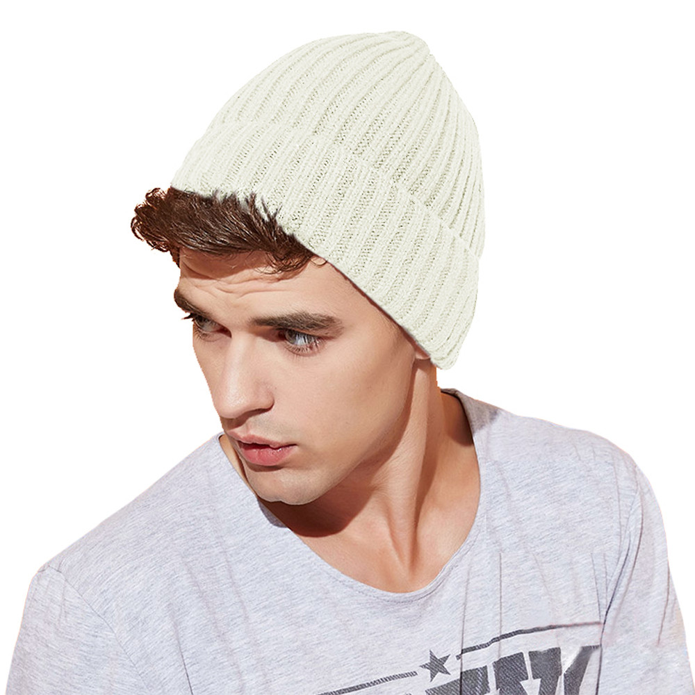 Mens Knit Beanie Unique Mens Uni Oversize Skater Woolly Warm Winter Knitted Ski Of Attractive 42 Images Mens Knit Beanie