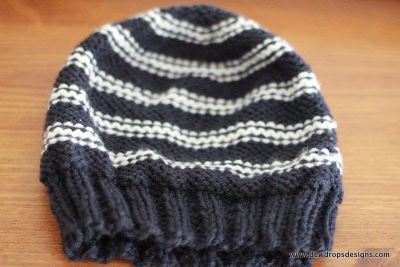 Mens Knit Hat Pattern Beautiful Dewdrop S Designs Men S Hat In Blue and White Of Fresh 43 Photos Mens Knit Hat Pattern