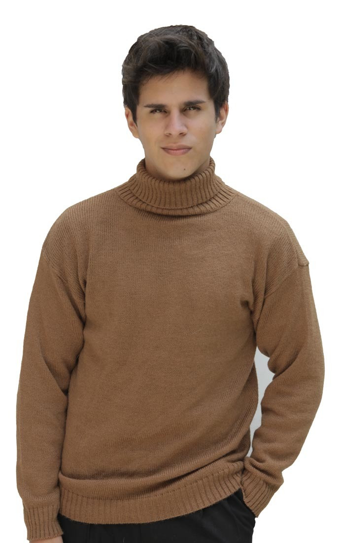 Mens Knit Sweater Awesome Men S soft Warm Alpaca Wool Knitted Knit Turtleneck Of Perfect 42 Pictures Mens Knit Sweater