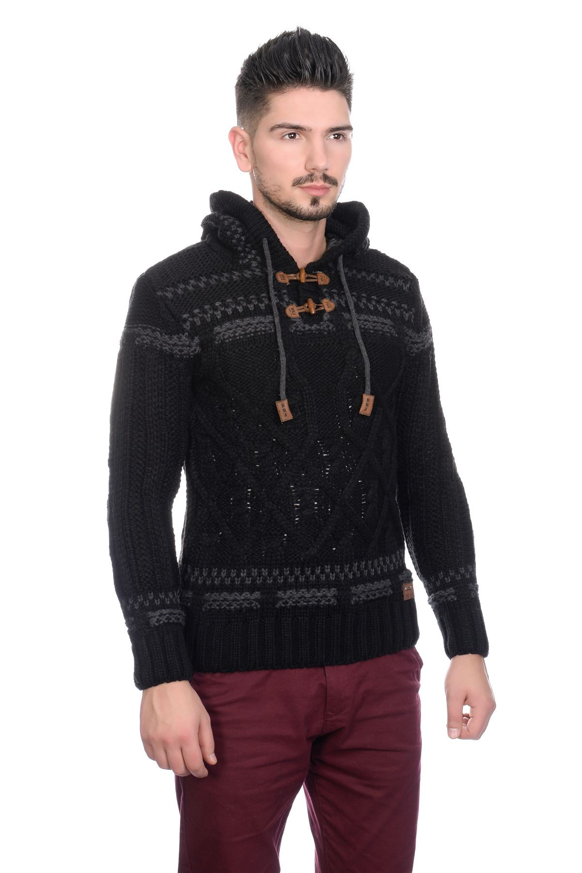Mens Knit Sweater Awesome New Brad Jones Mens Thick Cable Knit Hooded Vintage nordic Of Perfect 42 Pictures Mens Knit Sweater