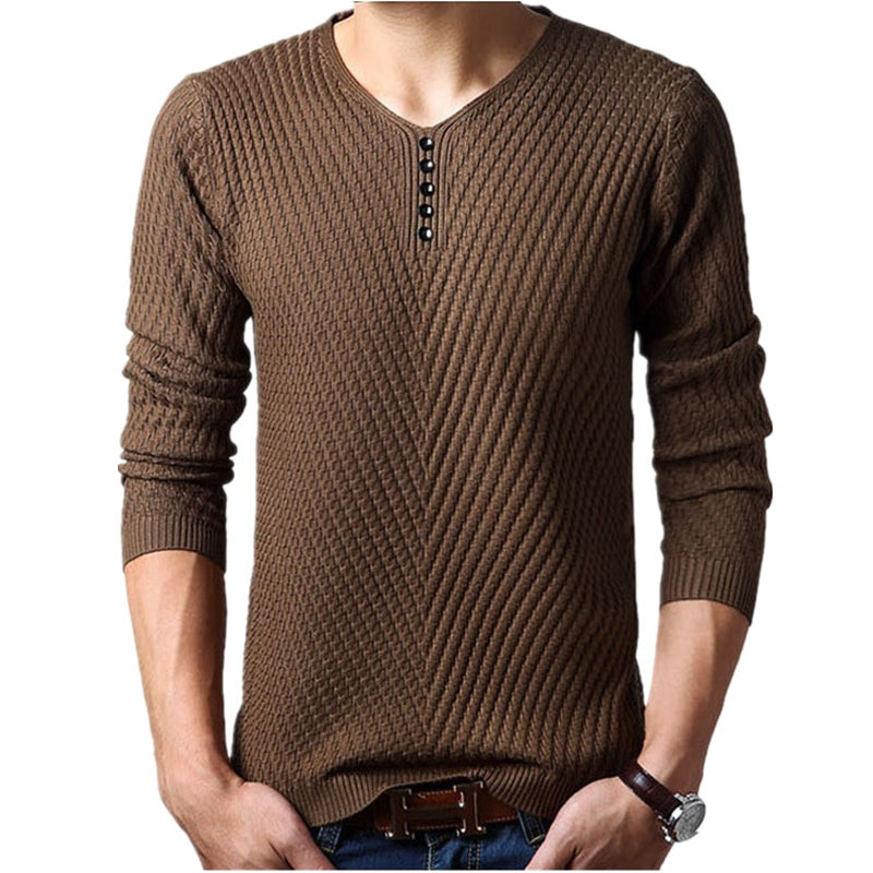 Mens Knit Sweater Beautiful M 4xl Winter Henley Neck Sweater Men Cashmere Pullover Of Perfect 42 Pictures Mens Knit Sweater