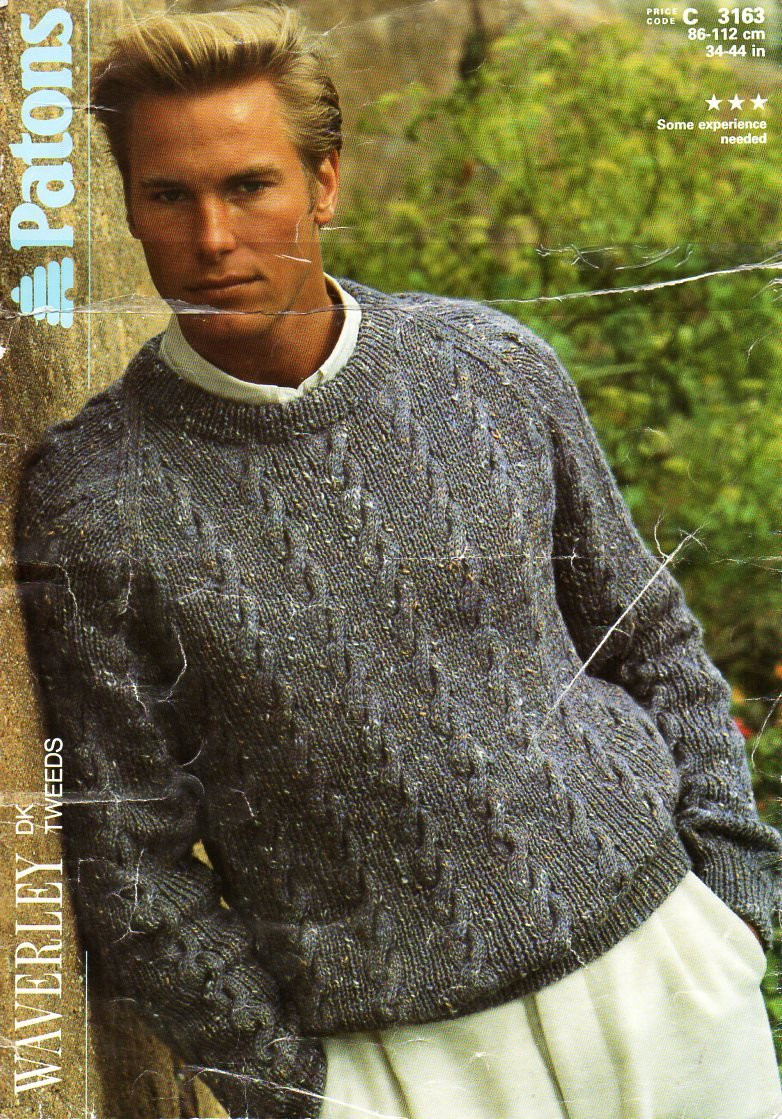 Mens Knit Sweater New Mens Sweater Knitting Pattern Pdf Mens Cable Sweater Crew Neck Of Perfect 42 Pictures Mens Knit Sweater