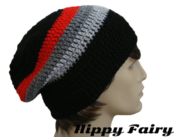 Mens slouch hatMens slouchy beanie mens slouchy hat mens or