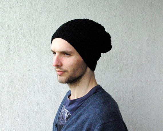 Mens Slouchy Beanie Elegant Men S Slouchy Beanie Hat Hand Knit Hat for Men Uni Of Incredible 41 Ideas Mens Slouchy Beanie