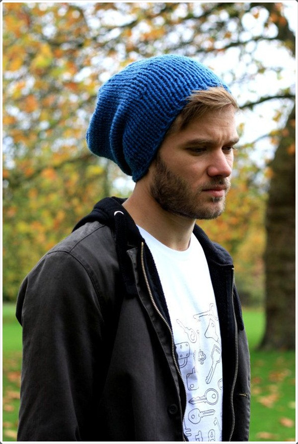 30 Perfect Slouchy Beanies For Men to Try this Year